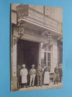 Hotel Du GRAND MIROIR 28 Rue De La Montagne ( Jules Dourin ) Bruxelles ( Copie Van Kaart Expo 1897 ) Blanco Binnenkant ! - Publicités