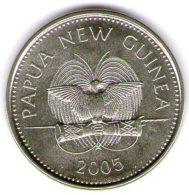 Papua New Guinea 20 Toea 2005 - Papuasia Nuova Guinea