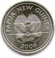 Papua New Guinea 10 Toea 2006 - Papuasia Nuova Guinea