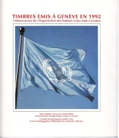 UN - United Nations Geneva 1992 MNH Souvenir Folder - Year Pack - Sin Clasificación