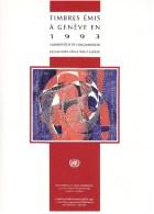 UN - United Nations Geneva 1993 MNH Souvenir Folder - Year Pack - Sin Clasificación