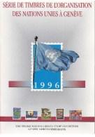 UN - United Nations Geneva 1996 MNH Souvenir Folder - Year Pack - Sin Clasificación
