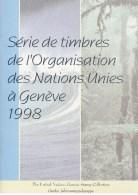 UN - United Nations Geneva 1998 MNH Souvenir Folder - Year Pack - Sin Clasificación