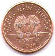 Papua New Guinea 2 Toea 2004 - Papuasia Nuova Guinea