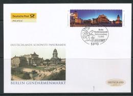 GERMANY Mi. Nr. 2987-2988 Deutschlands Schönste Panoramen - FDC - FDC: Enveloppes