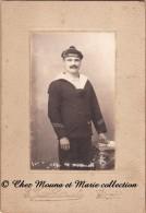 BREST - MATELOT MARIN DU DIDEROT - LATOUCHE - CDV PHOTO MILITAIRE - Guerre, Militaire