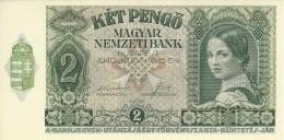 HUNGARY 2 PENGO 1940 P-108 UNC  [ HU108 ] - Ungarn