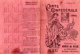 VP5530 - Carte Confédérale De La C.G.T - Fédération  Des Métaux Usine SAUTER à CLAYE SOUILLY - Mme FREPP De VILLEPARISIS - Cartes