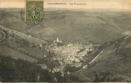 Dép 15 - Chaudes Aigues - Chaudesaigues - Vue Panoramique - 2 Scans - état - Altri Comuni