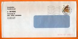 BELGIQUE    Lettre Entière110X220 N° AA 578 - Cuckoos & Turacos
