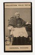 Collection Felix Potin - 1898 - REAL PHOTO - Cardinal Richard De La Vergne, Archevêque De Paris - Félix Potin