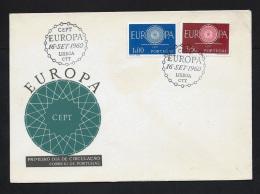 FDC  - EUROPA CEPT   - 1960 -  PORTUGAL  -   ** - 1960