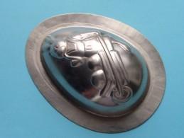 CHOCOLADEVORM / MOULE - CHOCOLAT MOLD Merk J.K.V. Tilburg N° 14571 Konijn / Kruiwagen ( Vintage / Zie Foto´s ) ! - Autres Collections