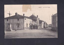 Mairy (sur Marne 51) - La Rue De Togny ( Monument Aux Morts ) - France