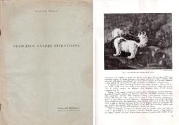 Fascicolo Estratto Da: EMPORIUM - Francesco Guardi Ritrattista Di G. Fiocco 1943 - Arte, Architettura