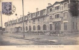 CPA 95 FRANCONVILLE LES ECOLES GROUPE FERDINAND BUISSON - Franconville