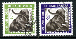 Haute-Volta Y&T Service 2 Et 3  ° Elephant - Haute-Volta (1958-1984)