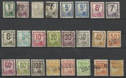 France Colis Postaux De 1944-47 Serie N° 1 à 26 Manque N° 7, 17, 18 20 Et 21 - Parcel Post