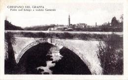 176  CRESPANO DEL GRAPPA - TREVISO  FP NV  EPOCA 1925  RARA - Treviso