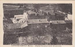 CPA 51 Sainte Menehould - Hopital Margaine ( école De Garcons ) - Sainte-Menehould