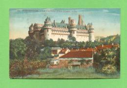 CPA  FRANCE  60  ~  PIERREFONDS  ~  42  Le Château, Côté Ouest  ( LL ) - Pierrefonds