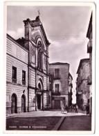 TEANO CASERTA CHIESA DI SAN FRANCESCO F/G LUCIDO VIAGGIATA 1959 - Italia