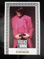 RARE Versace L'Homme Parfum Carte Postale - Modern (from 1961)