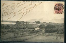 GUINÉE FRANCAISE - N° 22 / CPA DE DUBREKA , OBL. CONAKRY LE 24/7/1905 , POUR PARIS - TB