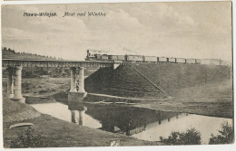 Nowo Wilejk Most Nad Wilenkq  Train On A Bridge Editor Nakl. F. Musko Wilno Vilnius - Litouwen