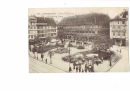 67 - STRASBOURG - Place Gutenberg - N)309 - SINGER Animation Marchand Ambulant  - 1919 - Zonder Classificatie
