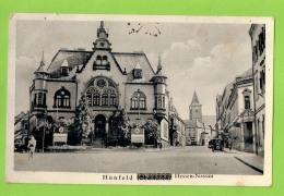 AK - Hünfeld, Hessen-Nassau - Straßenansicht - Gelaufen 5.7.1939 - Huenfeld