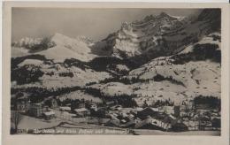 Adelboden Mit Klein Lohner Und Bonderspitze Im Winter En Hiver - Photo: Wehrli AG No. 13308 - BE Bern