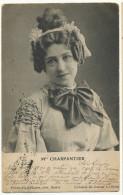 Mlle Charpentier Collection Du Journal La Scene Edit Pricam Fils Et Hauser Geneve Timbrée Plaipalis 1902 - GE Geneva