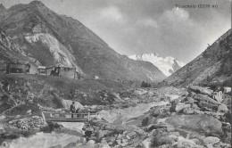 TÄSCHALP → Seltene Karte Von Der Täschalp, Ca.1920 - VS Wallis