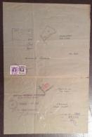 FORLI´ 1947 DUE LUCIDI FATTI A MANO E FIRMATI : COMUNE DI SALUDECIO E COMUNE DI CORIANO - Architettura