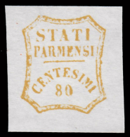 Parma - Governo Provvisorio: 80 C. Bistro Oliva - 1859 - Parma