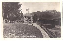 SCHWELLBRUNN: Gasthaus/Pension Säntisblick Mit Gartenwirtschaft Und Säntis ~1925 - AR Appenzell Rhodes-Extérieures