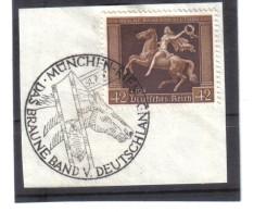 DEL1431  DEUTSCHES REICH 1938  MICHL 671 SONDERSTEMPEL Auf BRIEFSTÜCK Siehe ABBILDUNG - Deutschland