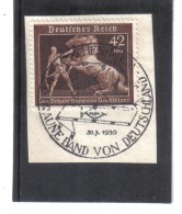 DEL1430  DEUTSCHES REICH 1939  MICHL 699 SONDERSTEMPEL Auf BRIEFSTÜCK Siehe ABBILDUNG - Deutschland