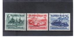 DEL1445  DEUTSCHES REICH 1939  MICHL 695/97 Used / Gestempelt Siehe ABBILDUNG - Gebraucht