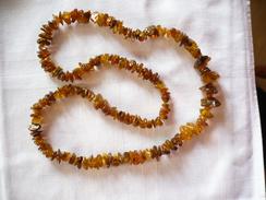 Bernsteinkette Endlos Mehrfarbig  (251) - Necklaces/Chains
