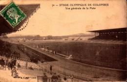 Hauts De Seine, Colombes, Stade Olympique, Vue Generale De La Piste    (bon Etat) - Colombes