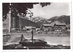 CHURWALDEN: Dorfpartie Mit Hotel Post 1950 - GR Grisons