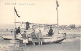 62-LE TOUQUET PARIS-PLAGE- BARQUE DE PROMENADE - Le Touquet