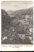 ARASCHGEN: Eingang Zur Passugger-Schlucht Mit Hotel Fontana ~1910 - GR Grisons