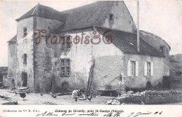 (58) Nièvre - Château De Giverdy Près De St Saint Saulge - Scanné Recto & Verso - France