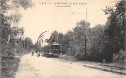 62-LE TOUQUET PARIS-PLAGE- LA ROUTE D´ETAPLES A TRAVERS LA FORÊT - Le Touquet
