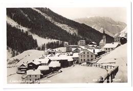 COMPATSCH Im Winter, Samnauntal - Echt-Foto-AK ~1950 - GR Grisons