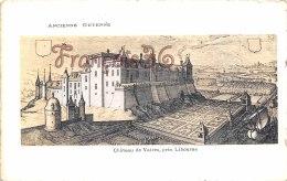 (33) Ancienne Guyenne - Château  De Vaires Près Libourne - Scanné Recto & Verso - Frankrijk