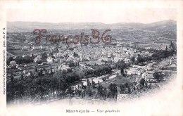 (48) Marvejols - Vue Générale - TBE - Scanné Recto & Verso - Marvejols